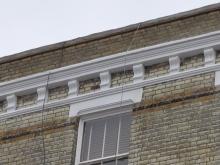 Corbel stone repair - after