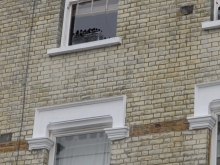 Cornice and Sill repair - after